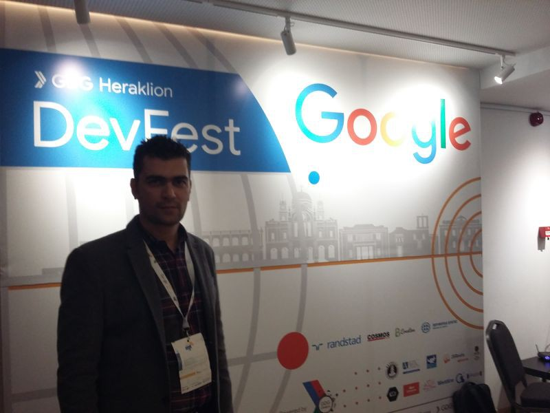 6th Google GDG Dev Fest Greece 2018 (01/02/2018, Heraklion)
