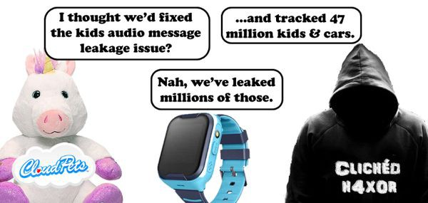 Kids smart trackers and vulnerabilities