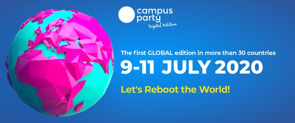 Participation at Campus Party Greece 2020 (10/07/20, Online)